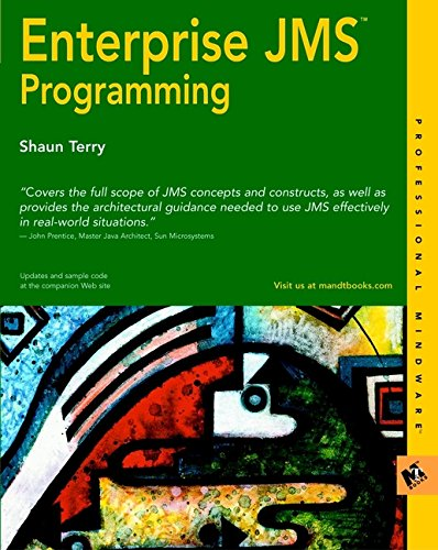 9780764548970: Enterprise JMS Programming (Professional Mindware)
