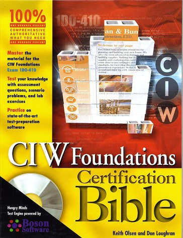 9780764549083: CIW Foundations Certification Bible