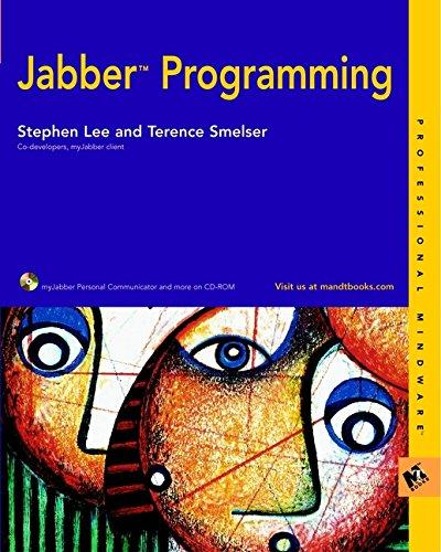 9780764549342: Jabber Programming (M&T Books)