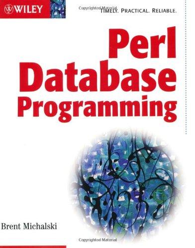 9780764549564: Perl Database Programming (Bible)