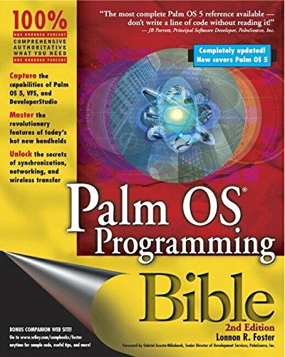 9780764549618: Palm OS Programming Bible