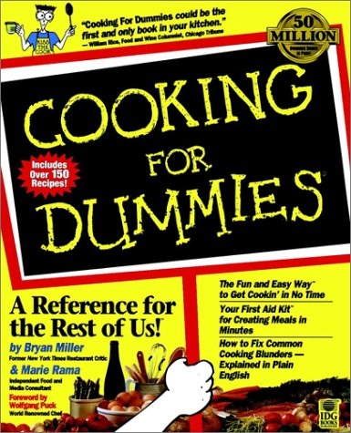 Cooking For Dummies? (For Dummies Series)