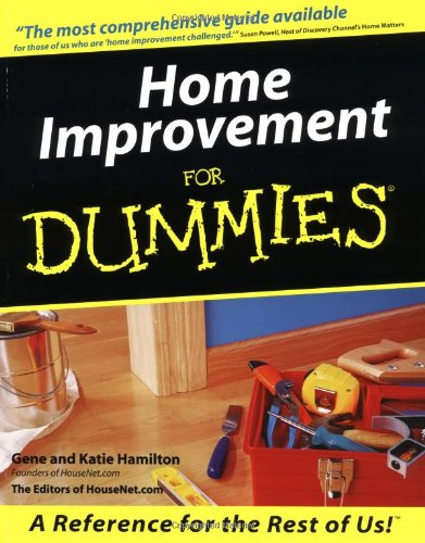 9780764550058: Home Improvement for Dummies
