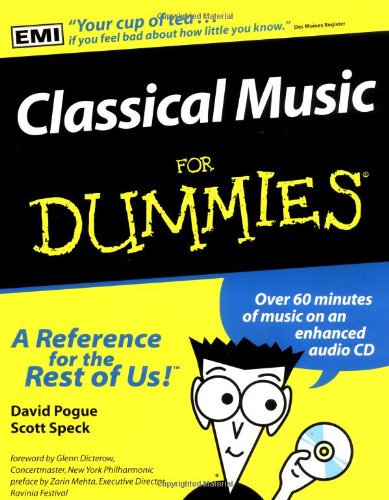 9780764550096: Classical Music For Dummies