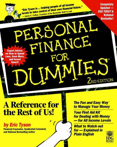 9780764550133: Personal Finance for Dummies