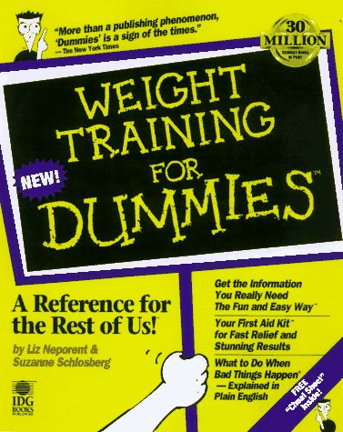 9780764550362: Weight Training For Dummies (For Dummies (Lifestyles Paperback))