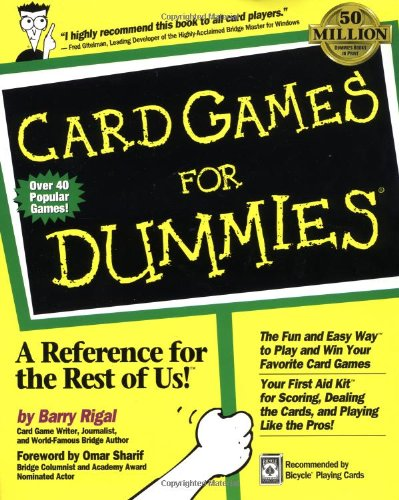 9780764550508: Card Games for Dummies