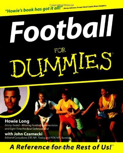 9780764550546: Football For Dummies