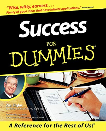 9780764550614: Success For Dummies