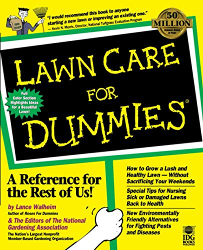 9780764550775: Lawn Care For Dummies
