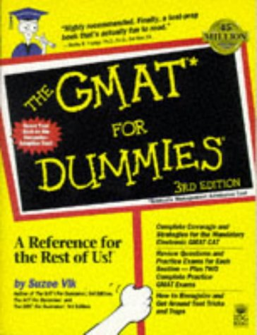 9780764550829: The Gmat for Dummies