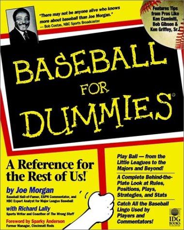 Baseball For Dummies: Morgan, Joe, Lally,