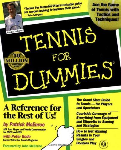9780764550874: Tennis For Dummies