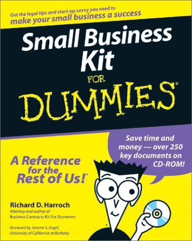 9780764550935: Small Business Kit For Dummies: A Primer