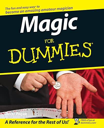 9780764551017: Magic For Dummies