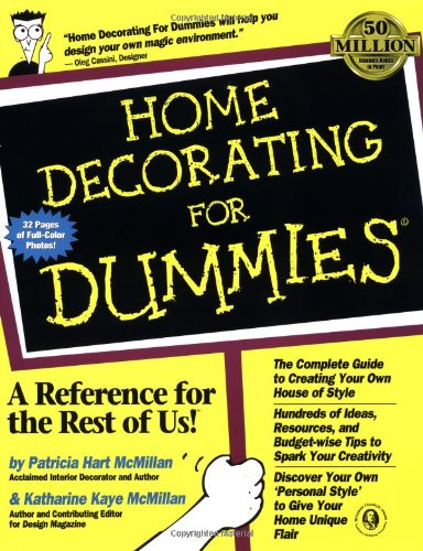 9780764551079: Home Decorating for Dummies