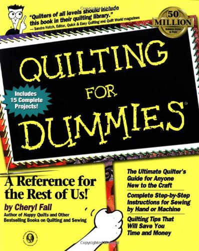9780764551185: Quilting For Dummies? (For Dummies (Computer/Tech))