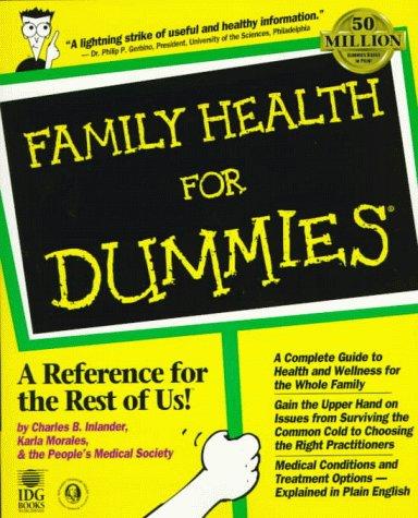 9780764551215: Family Health For Dummies?