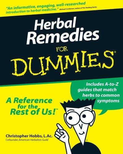 9780764551277: Herbal Remedies for Dummies
