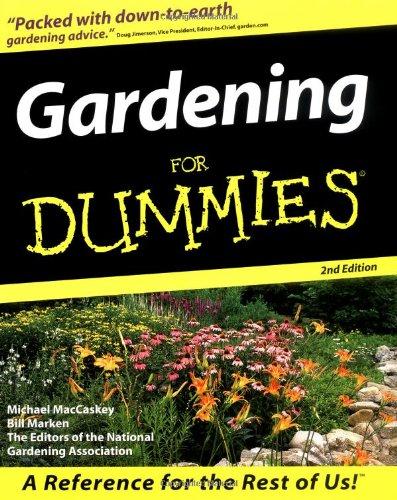 9780764551307: Gardening For Dummies (For Dummies (Computer/Tech))