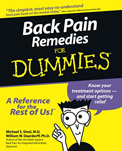 9780764551321: Back Pain Remedies for Dummies