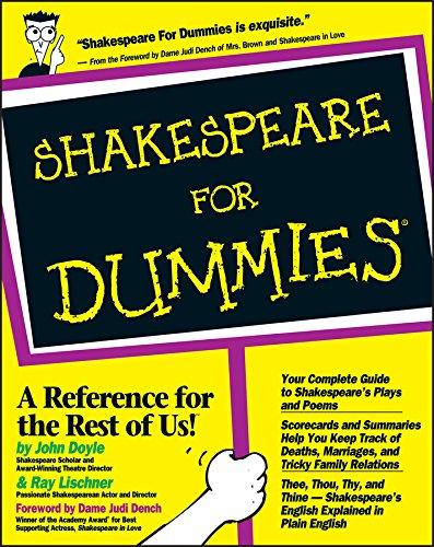 9780764551352: Shakespeare For Dummies�