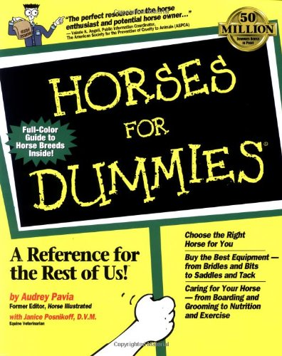 9780764551383: Horses For Dummies (For Dummies (Computer/Tech))