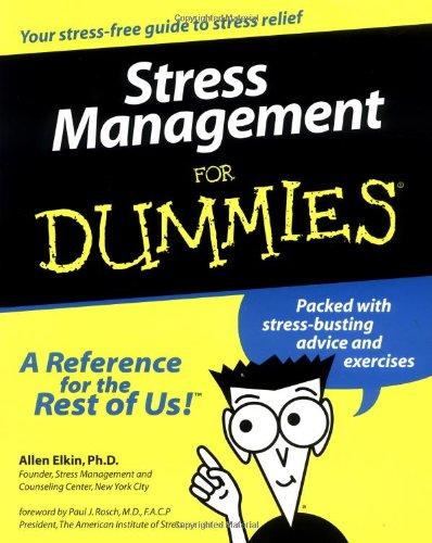 9780764551444: Stress Management For Dummies