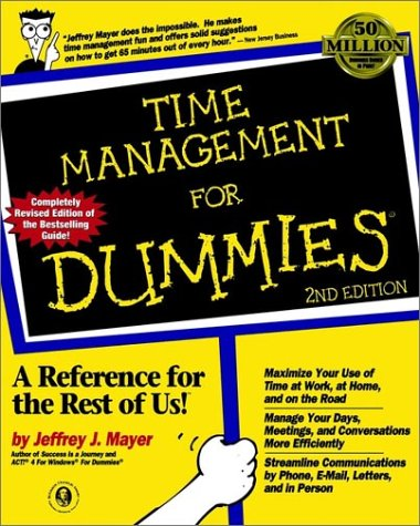 9780764551451: Time Management For Dummies, 2nd Edition (For Dummies (Lifestyles Paperback))