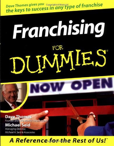9780764551604: Franchising For Dummies (For Dummies (Computer/Tech))