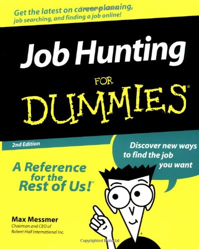 9780764551635: Job Hunting For Dummies