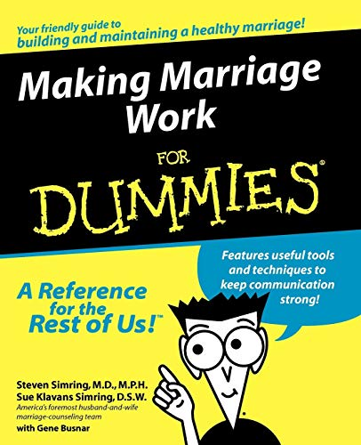 9780764551734: Making Marriage Work For Dummi (For Dummies)