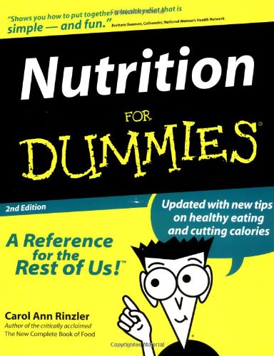9780764551802: Nutrition For Dummies (For Dummies (Computer/Tech))