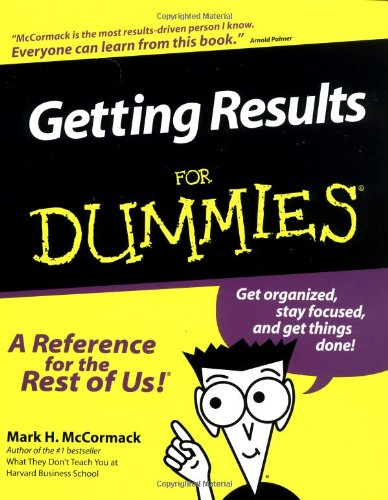 9780764552052: Getting Results For Dummies