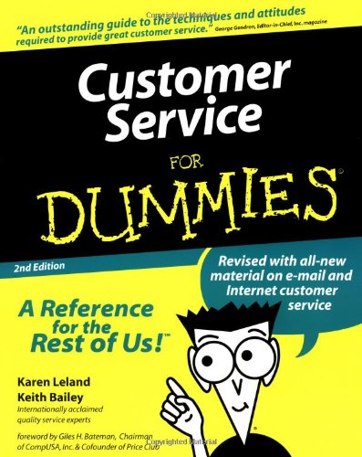 9780764552090: Customer Service For Dummies (For Dummies (Computer/Tech))