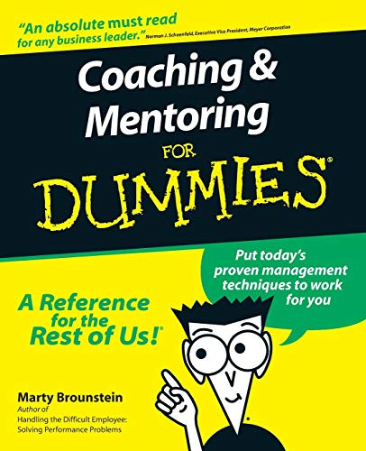 9780764552236: Coaching and Mentoring For Dummies