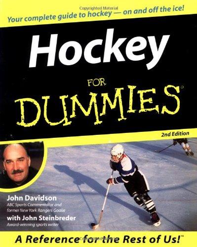 Hockey For Dummies: John Davidson, John
