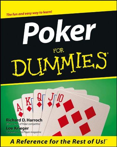 9780764552328: Poker For Dummies