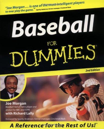 9780764552342: Baseball for Dummies