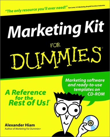 9780764552380: Marketing Kit For Dummies