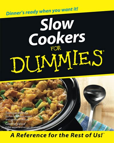 9780764552403: Slow Cookers for Dummies