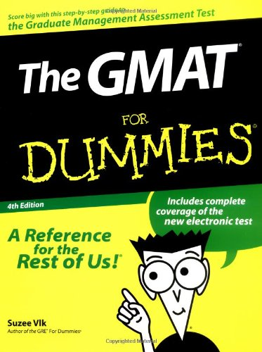 9780764552519: The GMAT For Dummies