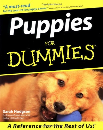 9780764552557: Puppies for Dummies (Howell dummies series)