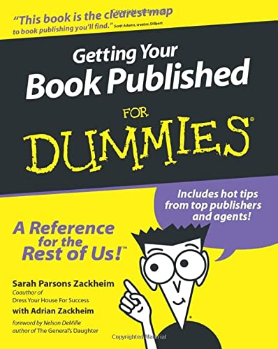 9780764552571: Getting Your Book Published for Dummies