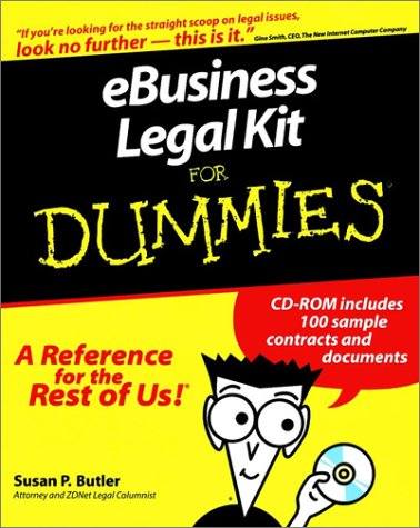 Ebusiness Legal Kit for Dummies: Susan P. Butler