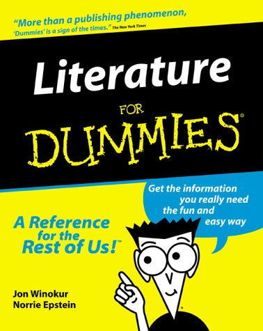 9780764552663: Literature for Dummies (For Dummies S.)