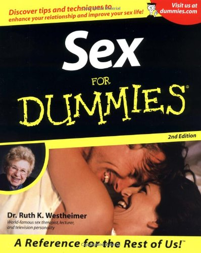 9780764553028: Sex For Dummies (For Dummies (Computer/Tech))