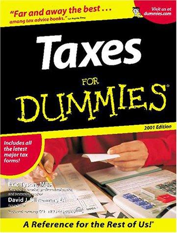 9780764553066: Taxes for Dummies: 2001 Edition