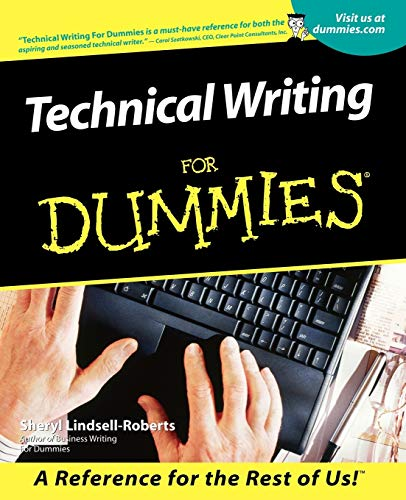 9780764553080: Technical Writing For Dummies
