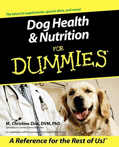 9780764553189: Dog Health and Nutrition For Dummies